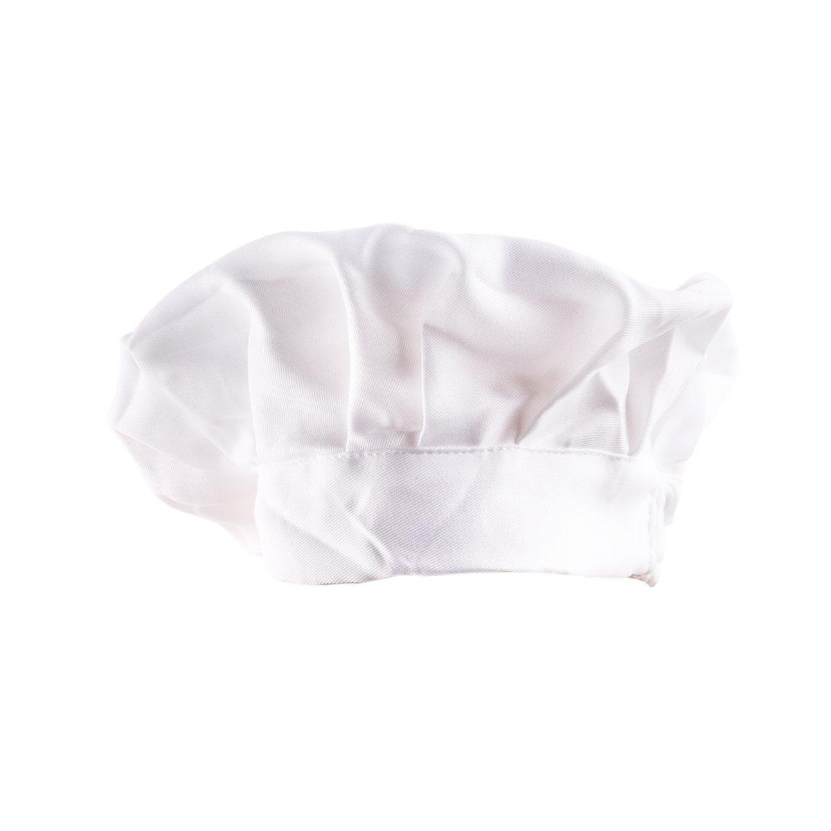 rosenice Chapeau de chef cuisinier Unisexe r/églable /élastique