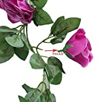 Greentime-2-Pcs-Fake-Flowers-Vine-78-FT-16-Heads-Silk-Artificial-Roses-Garland-Plant-for-Wreath-Wedding-Party-Home-Garden-Wall-Decoration