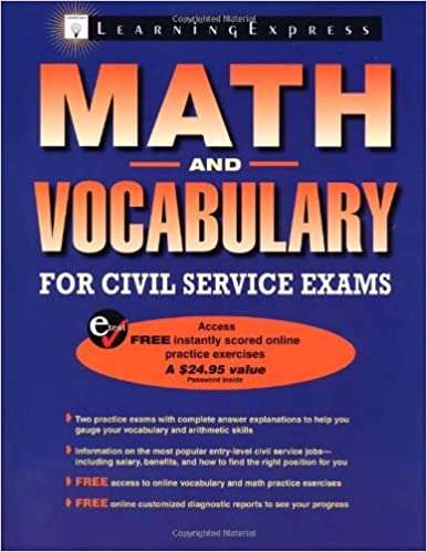 Math and vocabulary for civil service exams pappsc learningexpress math and vocabulary for civil service exams pappsc learningexpress editors amazon fandeluxe Image collections