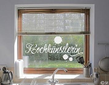 Fenstertattoo No Sf976 Kochkunstlerin Kochen Kuche Kunst Kunstler