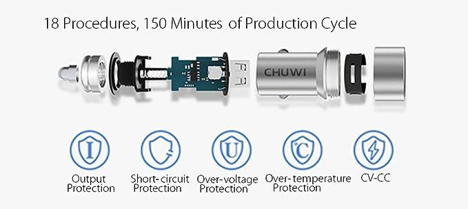 Chuwi Hi 13 - Cargador para el coche: Amazon.es: Electrónica