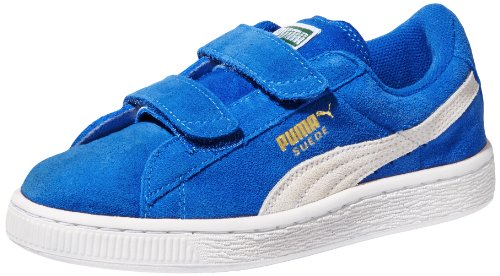 PUMA Suede Classic 2-Strap Sneaker  , Snorkel Blue/White, 10 M US Toddler (Light Blue Puma Sneakers compare prices)