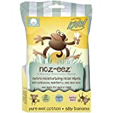 Noz-EEZ Moisturizing Nose Wipes for Babies and Kids w/Echinacea, Elderberry & Aloe, Banana Scent by Natural Essentials, 32-Count (1)