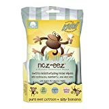 Natural Essentials Noz-eez, Moisturizing Nose Wipes w/ Echinacea, Eldeberry & Aloe Vera, Silly Banana Fragrance, 32-Count (12 Packs, 384 Wipes)