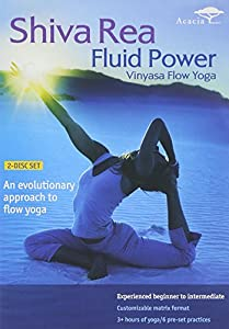 Image result for Shiva Rea Fluid Power Vinyasa Flow Yoga DVD