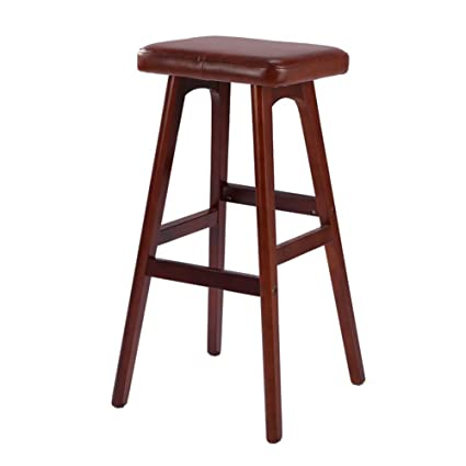 Swell Amazon Com Stools Footstool Solid Wood Bar Stool Creative Dailytribune Chair Design For Home Dailytribuneorg