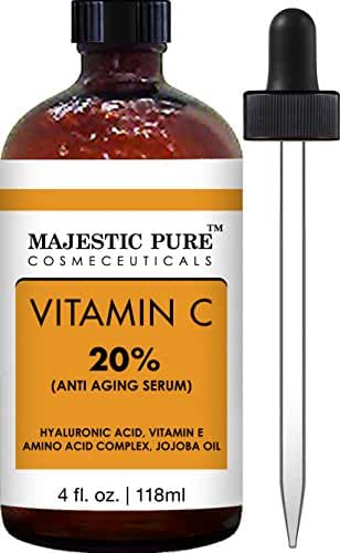 Majestic Pure Vitamin C Serum, Antioxidant, 4 Oz