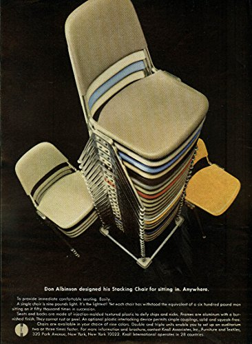 Don Albinson designed his Stacking Chair for sitting for sale  Delivered anywhere in USA