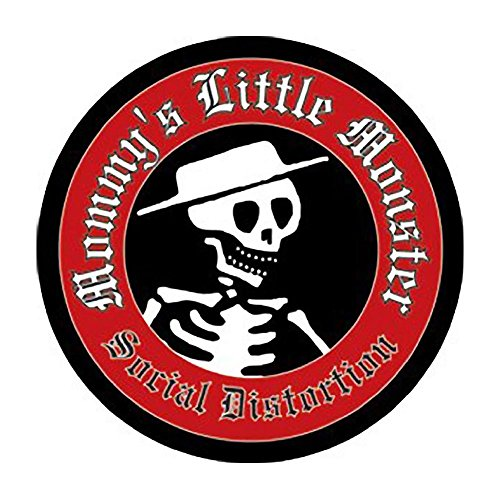 Social Distortion Little Monster Pin (Social Distortion Guitar)