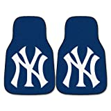 FANMATS MLB New York Yankees Nylon Face Carpet Car Mat