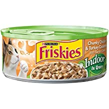 Friskies Wet Cat Food, Indoor, Chunky Chicken & Turkey Casserole, 5.5-Ounce Can by Purina Friskies