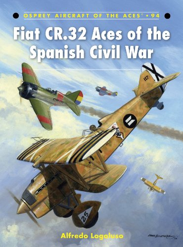 Fiat CR.32 Aces of the Spanish Civil War (Aircraft of the Aces Book 94) (Osprey Civil Aircraft)