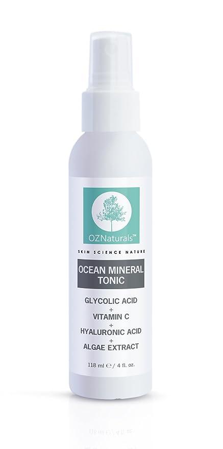 OZ Naturals Tónico Facial Natural para la piel contiene vitamina C 4 Fl Oz