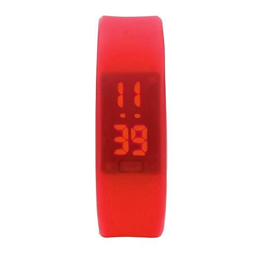 Kinlene Mujer Pulsera Actividad,Reloj Deportivo,Relojes mujer,Reloj de pulsera de caucho