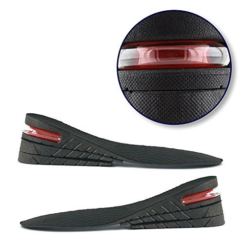 GALLERY-3-Layer Air up Height Increase Elevator Shoes Insole Lift Kit - 6 cm (approximately 2.5 inches) Height Increase Insole 3-Layer Air up Shoe for Men and Women