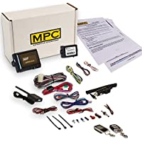 Complete 2 Way LCD Remote Start With Keyless Entry Kit For 2005-2007 Ford Five Hundred - Includes Bypass