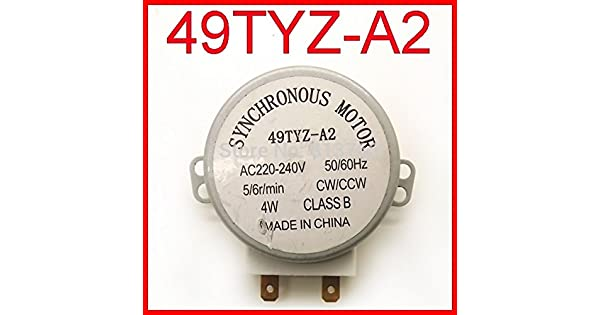 Amazon.com: 49tyz-a2 Microondas Turntable Turn Table Motor ...