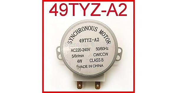 Amazon.com: 49tyz-a2 Microondas Turntable Turn Table Motor ...