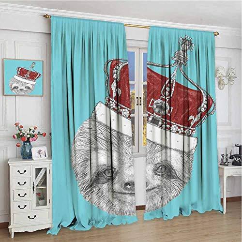 Metallic Lace Imperial Crown - wonderr Window Curtain Drape W72 x