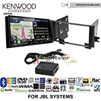 Volunteer Audio Kenwood Excelon DNX994S Double Din Radio Install Kit with GPS Navigation Apple CarPlay Android Auto Fits 2003-2009 Toyota 4Runner with Amplified System