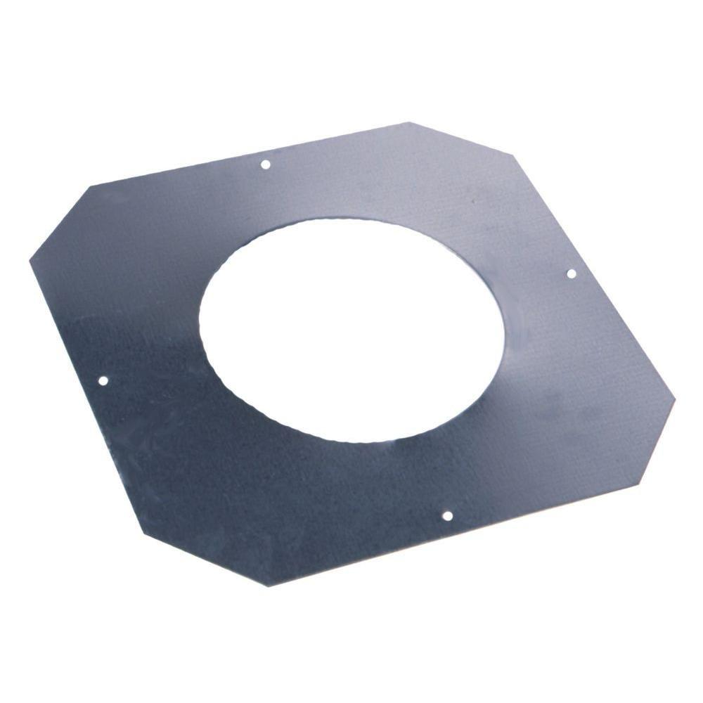 10 in. 24-Gauge Stainless Steel Ceiling Collar