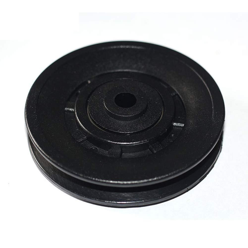 Puleggia Ruota 90mm Cavo Nylon Cuscinetto Rotondo Impermeabile Durevole Fitness Equipment Abbigliamento Resistenza Parte Ricambio Palestra Sicuro