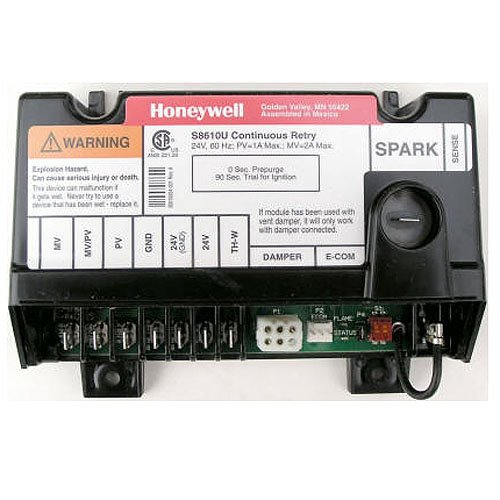 Replacement for Honeywell Furnace Integrated Pilot Module Ignition Control Circuit Board S8610U