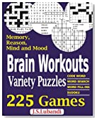 Brain Workouts Variety Puzzles (Volume 1)