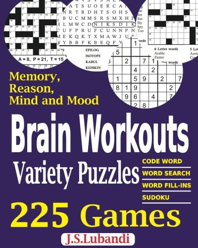 Brain Workouts Variety Puzzles (Volume 1)