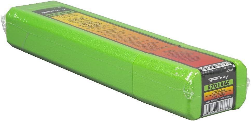 Forney 30681 E7018 AC Welding Rod, 3/32-Inch, 5-Pound