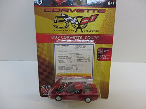 Racing Champions Corvette 50th Anniversary Collection 1997 Corvette Coupe 1:64 Scale Die Cast Car
