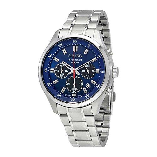 Seiko-Chronograph-Chronograph-Blue-Dial-Mens-Watch-SKS585