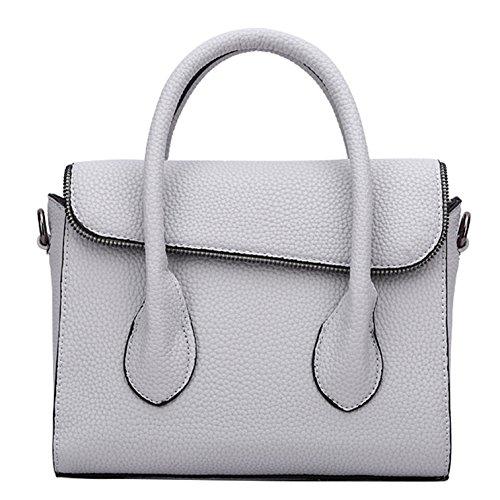 Top White Handbag Handle Women's Leisure Yiji Washed Tote 0Eazx