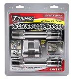 lock para autos - Trimax TMC3310 Receiver and Span Coupler Lock with Flat Keys