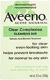 Aveeno, Facial Bars Clear Complexion Cleansing Bar, 3.5 oz