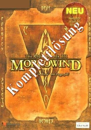 Morrowind Elder Scrolls 3, Lösungsheft (inoffiziell)