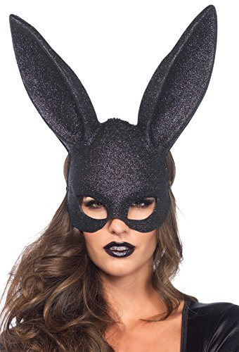 Leg Avenue Women's Glitter Bunny Masquerade Party Mask