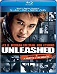 Cover Image for 'Unleashed (Unrated and Theatrical Versions) [Blu-ray/DVD Combo + Digital Copy]'