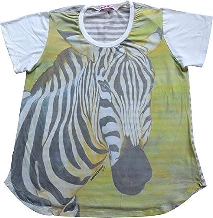 Doggy Dolly TH008 Camiseta de diseño de Animales, Zebra: Amazon.es: Productos para mascotas