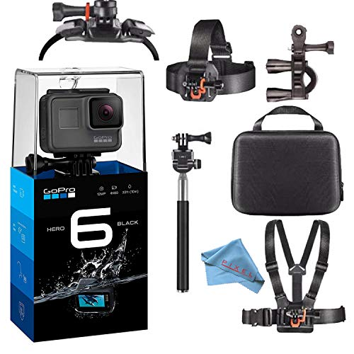 GoPro HERO6 Black 4K Action Camera Starter Bundle W/Accessories ?