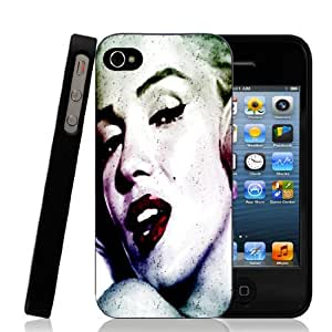 Monroe in Color - iPhone 4/4s Black Case