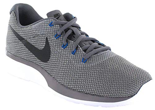 Nike Mens Tanjun Racer Gunsmoke/Black-Atmosphere Grey 921669-006 (8.5 D(M) US) ()