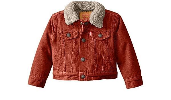 9cceb6807907 Amazon.com   Levi s Baby Boys  Sherpa Trucker Jacket