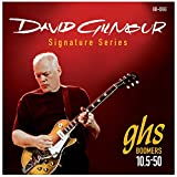 GHS Strings GB-DGG David Gilmour Signature Series, Nickel-Plated Electric Guitar Strings (.010 1/2-.050)