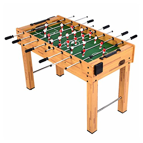 Foosball Soccer Table 48″ Competition Sized Arcade Game Hockey Family Sport
