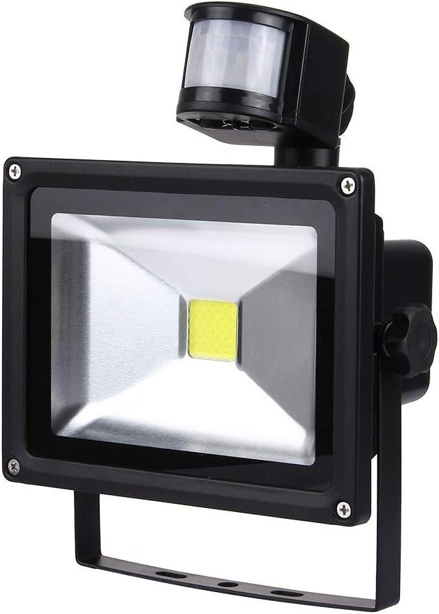 Lixuxin 20W 1800LM Life Raincoat LED Infrared Sensor Floodlight Lamp with Solar Panel