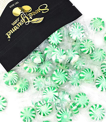 SweetGourmet Spearmint Starlites Wrapped Candy, 1.5lb
