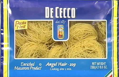 De Cecco Pasta Angel Hair Nest