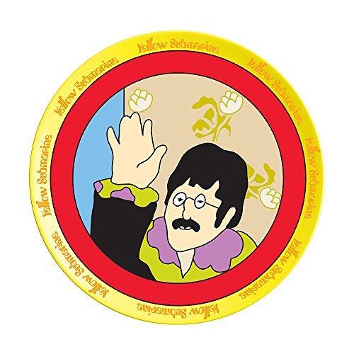 Vandor The Beatles Yellow Submarine 4 Piece 8 Inch Ceramic Salad Plate Set (73037) by Vandor