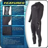 NeoSport Wetsuits Men's Premium Neoprene 5mm Full